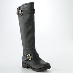 I want these boots! (Candie's Tall Boot)  www.kohls.com