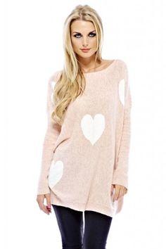 http://monumentallorenzogarza.com/ax-paris-womens-knitted-multi-heart-pink-cream-sweater-p-7346.html