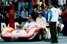 Jacky Ickx and the Ferrari 512 Coda Lunga at Le Mans, 1970