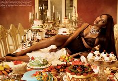 "v-eck: "" Happy Thanksgiving! Naomi Campbell by Steven Meisel for Vogue Italia July 2008 "" Naomi Campbell, Steven Meisel, Porno, Vogue Magazine, Black Models, Top Models, Female Models, Fashion Books, Fashion Pics"