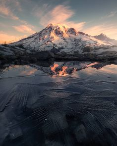 Mount Rainier National Park USA by Ross Schram (OS) - erdeebee - Outdoor Photography, Landscape Photography, Nature Photography, Photography Photos, Travel Photography, Beautiful World, Beautiful Places, Beautiful Pictures, Beautiful Scenery