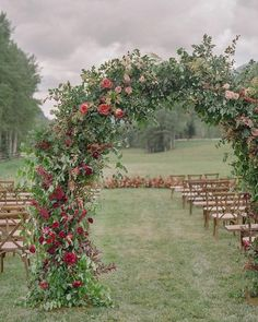 30 Bright Ideas Of Wedding Ceremony Decorations ❤ wedding ceremony decorations outdoor with greenery arch lauramurray #weddingforward #wedding #bride