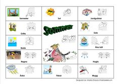 Mariaslekrum - Pratkartor. Learn Swedish, Swedish Language, Baby Barn, Sign Language, Anton, Kindergarten, Preschool, Education, Learning