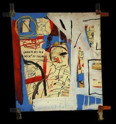 Three Quarters of Olympia Minus the Servant, 1982, Jean- Michel Basquiat
