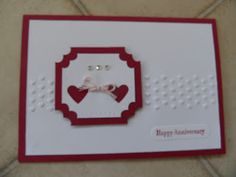 Adorning accents embossing folder, heart punch