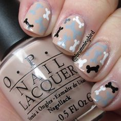 Bones would love nails like this :)