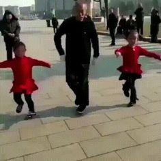 Cute dance