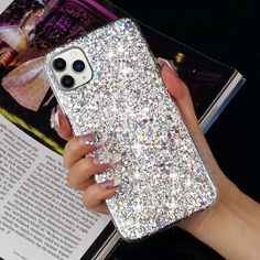 Luxury Glitter Gloss Sequins Soft Shockproof Silicone Case Cover for Apple Iphone 11 Xr Xs Max X 8 7 Plus 6 5 SE Gaming Computer, Gaming Setup, Cute Phone Cases, Iphone Phone Cases, Ipod Touch, Covers Iphone, Samsung Galaxy S5, Galaxy S3, Accessoires Iphone
