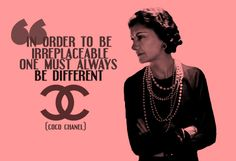 Just as Coco Chanel and Marilyn Monroe refused to accept second best. I believe that every woman around the world should strive to achieve her own personal greatness through embracing her unique-self.