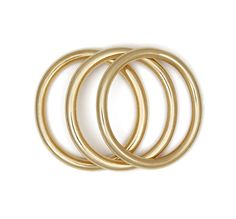 AERIN ERICKSON BEAMON GOLD BRACELET My mother always wears stacked bracelets, she was the inspiration behind this set.