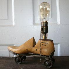 Vintage Assemblage Art Lamp                                                                                                                                                                                 More