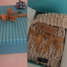#chunkyknitstyle the pleasures of gift wrapping for a customer collection.