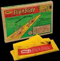 Slip 'n Slide and Mr. Wiggles... those were some fun fun fun times!