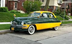 classic Green Bay Packers car
