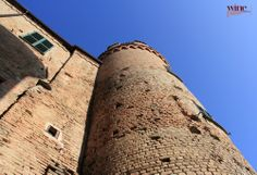 "Castle at Calosso, a town important for its production of Moscato d'Asti, Barbera, Dolcetto, Nebbiolo, Pinot, Chardonnay, Freisa, and the native Gamba di Pernice (the ""Patridge Leg""). Piemonte, Italy"