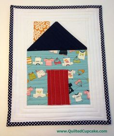 Small project courtesy of Quilted Cupcake