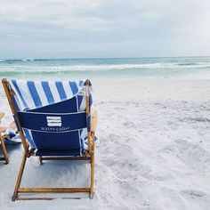 stripe beach chair *