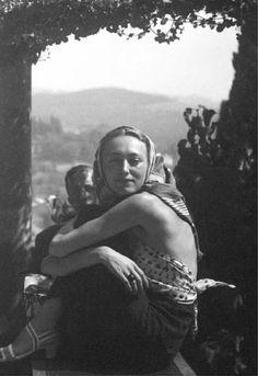 Nusch Eluard [with Paul Eluard ] 1936 by Man Ray