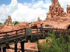Magic Kingdom - Big Thunder Mountain Railroad | Posted at PassPorter.com by member OffKilter_Lynn | Click for more detail and a better view!...