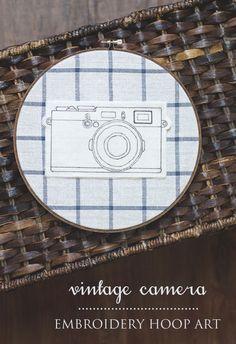 DIY vintage camera e