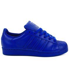 adidas superstar bleu roi