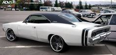 Original Dodge Charger on ADV.1 Wheels Click here to read the www.hotwilson.com
