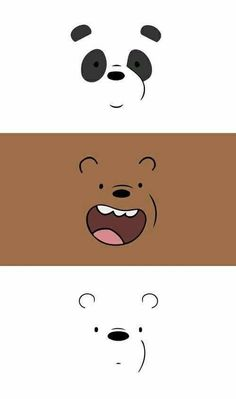 We bare bears wallpaper Panda Cute Panda Wallpaper, Cartoon Wallpaper Iphone, Bear Wallpaper, Cute Disney Wallpaper, Kawaii Wallpaper, Wallpaper Quotes, Wallpaper Backgrounds, Iphone Backgrounds, Wallpaper Desktop