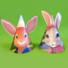 Peter Rabbit Bunny Ear Birthday Party Hats