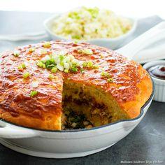 Honey Cornbread, Mexican Cornbread, Cornbread Recipes, Smoked Pulled Pork, Pulled Pork Recipes, Making Pulled Pork, Ham And Bean Soup, Bbq Pork, Bbq Ribs