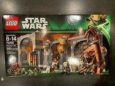 Lego Star Wars 75005 Rancor Pit Mini Figures Luke Skywalker Gamorrean for sale online Lego Racers, Star Wars Episode Iv, Lego War, Obi Wan, Legoland, Building Toys, For Stars, Lego Sets, Lego Star Wars