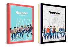 "ROMEO 4th Mini Album ""WITHOUT U"" 2 Ver. SET K_POP CD+Photobook+Postcard+Poster #Pop"