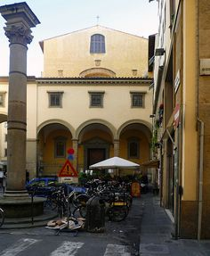 Santa Felicita, Florence, where one can find Pontormo's Deposition.