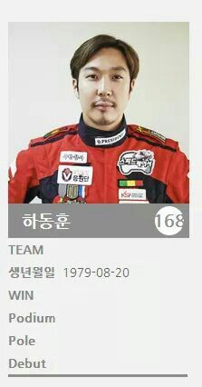 Haha Ha Dong Hoon, KSF racing photo, #infinitychallenge #muhandojeon