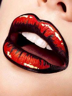 15 maquiagens nos lábios que são verdadeiras obras de arte | Estilo
