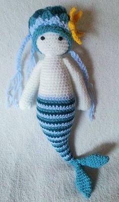 Häkelfieber: H@bibi ~ kleine Meerjungfrau