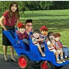 Accurate very accurate Army but we know with Jin's driving skills they will all die