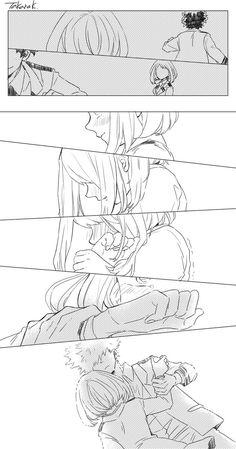Boku no Hero Academia || Uraraka Ochako, Katsuki Bakugou (1).