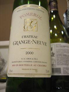 Pomerol French wine