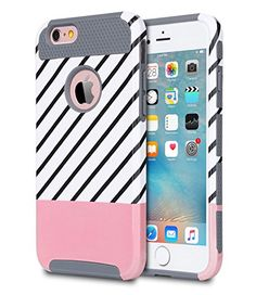 62 best iphone 7 plus case images cell phone accessories, iphone 7iphone 6 plus case,iphone 6s plus case,zoshiny [2in1] slim [dual layer] protection [scratch resistant] hard back cover [shock absorbent] tpu bumper case for