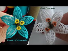 How to make a needle lace lily flower? Needle lace different flower models NEEDLE LACE flower - Дизайн дома Tatting, Wie Macht Man, Needle Lace, Silk Ribbon Embroidery, Different Flowers, Lace Making, Lace Flowers, Flower Bouquet Wedding, Flower Patterns