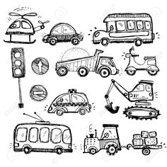 CONSTRUCTION VEHICLE DOODLES - Google Search