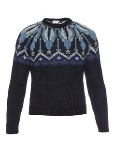 Wool and alpaca-blend sweater | Moncler | MATCHESFASHION.COM
