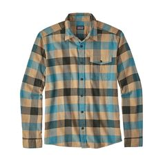 64bafbfd715 Men s Long-Sleeved Lightweight Fjord Flannel Shirt