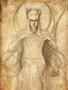 Thranduil is my new obsession y'all