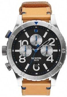Nixon Men s 48-20 Chrono Miyota Quartz Watch 0a87f60b1c4