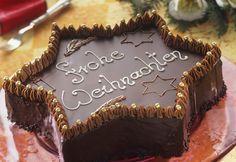 Schoko-Sternkuchen - festlicher Anblick | Zeit: 3 Std. 45 Min. | http://eatsmarter.de/rezepte/schoko-sternkuchen