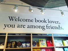 Welcome book lover, you are among friends!