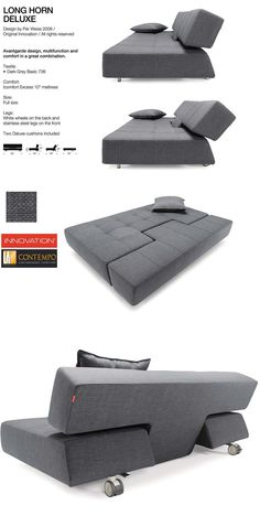 My first choice ******* sofa bed, # * # furniture # MöbelDes . Folding Furniture, Smart Furniture, Modular Furniture, Space Saving Furniture, Sofa Furniture, Furniture Design, Furniture Dolly, Furniture Stores, Chesterfield Sofas