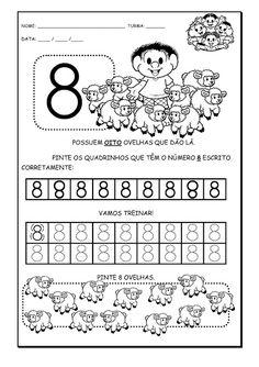 Alfabetizando com Mônica e Turma: Atividades com Números - Chico Bento - 8, 9 e…