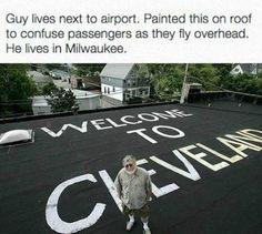 Funny Cleveland fly joke